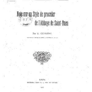 Note_sur_un_style_de_[...]G�nestal_Robert_bpt6k5772500z.pdf