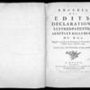 Recueil des édits, déclarations, lettres patentes, arrêts et règlements du roi registrés en la Cour du Parlement de Normandie, depuis l'année 1740 jusqu'en 1754, Rouen, Lallemand, 1774