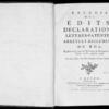 Recueil des édits, déclarations, lettres patentes, arrêts et règlements du roi registrés en la Cour du Parlement de Normandie, depuis l'année 1718 jusqu'en 1726, Rouen, Lallemand, 1774