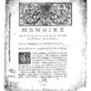 Hoüard, David, Mémoire sur la Cause pendante en la Grande Chambre du Parlement de Normandie entre Monseigneur l'Archevesque et les habitans en général de la ville de Dieppe. Rouen, Machuel, 1766