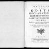 Recueil des édits, déclarations, lettres patentes, arrêts et règlements du roi registrés en la Cour du Parlement de Normandie, depuis l'année 1754 jusqu'en 1763, Rouen, Lallemand, 1774