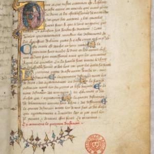 Anonyme, Grand coutumier de Normandie. –Charte aux Normands. –Autres pièces de droit normand. 1392-1420