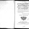 Flaust, Jean-Baptiste, Explication de la coutume et de la jurisprudence de Normandie, dans un ordre simple et facile, Tome Premier, Rouen, Oursel, 1781