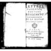 Lettres patentes portant règlement pour l'administration de la justice dans la province de Normandie