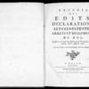 Recueil des édits, déclarations, lettres patentes, arrêts et règlements du roi registrés en la Cour du Parlement de Normandie, depuis l'année 1700 jusqu'en 1706, Rouen, Lallemand, 1774