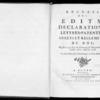 Recueil des édits, déclarations, lettres patentes, arrêts et règlements du roi registrés en la Cour du Parlement de Normandie, depuis l'année 1712 jusqu'en 1718, Rouen, Lallemand, 1774